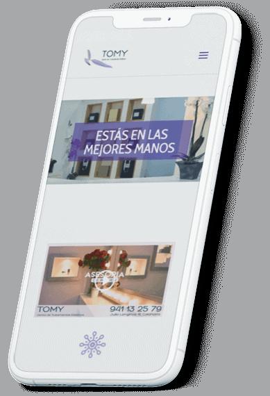 Centro Estética Tomy web