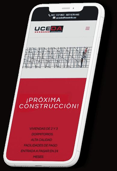 Uceda Construcciones web