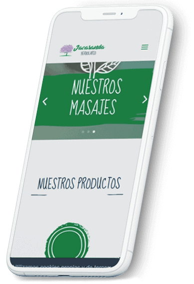 Jacaranda Herbolario web