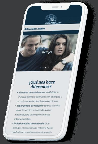 Relojería Puntual web