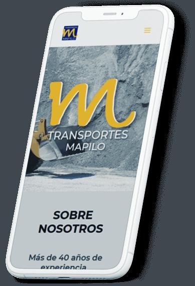 Transportes Mapilo web