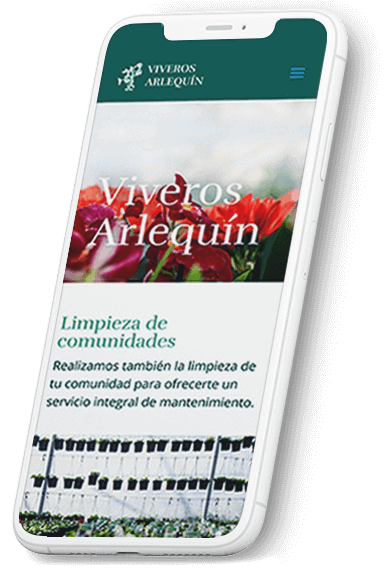 Viveros Arlequín web