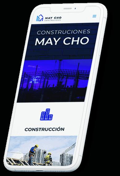 Construcciones May Cho web
