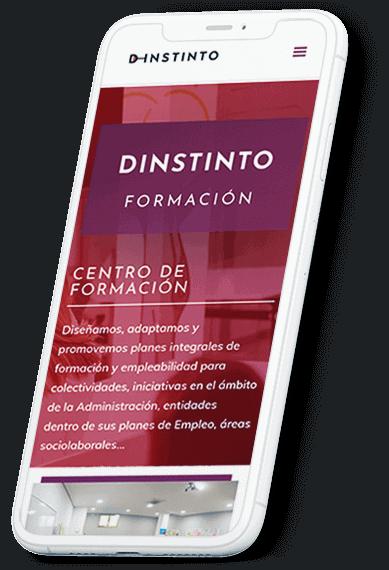 D-Instinto web