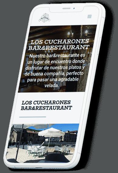 Restaurante Los Cucharones web