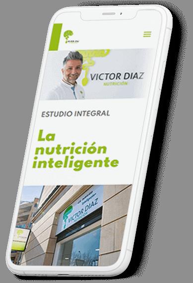 Víctor Diaz Nutrición web