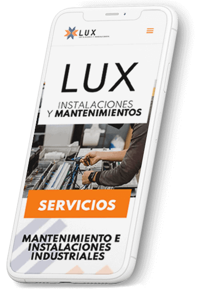 Instalaciones Lux web
